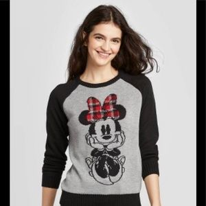 Disney Minnie mouse sweater small NWT